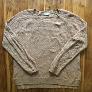 Madewell Leafstitch Crewneck Sweater Size Large